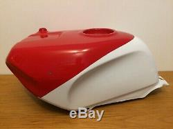 HONDA VFR 400 NC30 Fuel Petrol Tank Red White Race Track
