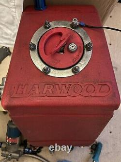 Hardwood Racing Fuel Tank, Holly Fuel Pump and Accessories Good Working Order