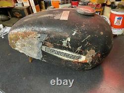 Harley OEM Sprint CR250 Fiberglass Flat track RACE gas tank fuel original