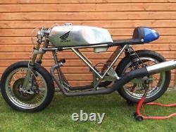 Honda 350 K4 TAB Alloy Manx Fuel Tank Classic Racing Aluminium