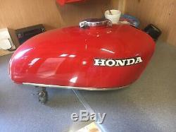Honda CB350 Petrol Tank 1972 Cafe Race Retro