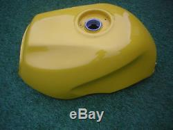 Honda Cb 500 Fuel Tank / Petrol Tank 1994-2003 Yellow Race Tank / Cafe Racer