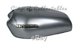 Honda Nx650 Nx Dominator Petrol Gas Fuel Tank Bare Steel Scrambler Tracker Race