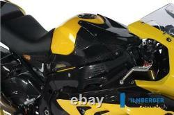Ilmberger RACING Carbon Fibre Fuel Tank Covers Set Pair BMW S1000RR 2012