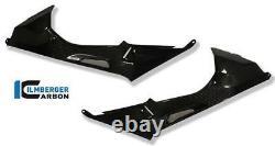 Ilmberger RACING Carbon Fibre Fuel Tank Covers Set Pair BMW S1000RR 2014