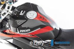 Ilmberger RACING Gloss Carbon Fibre Fuel Tank Cover Ducati Panigale V4 S 2018