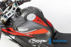 Ilmberger RACING Matt Carbon Fibre Fuel Tank Cover Ducati Panigale V4 2018