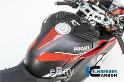 Ilmberger RACING Matt Carbon Fibre Fuel Tank Cover Ducati Panigale V4 S 2020