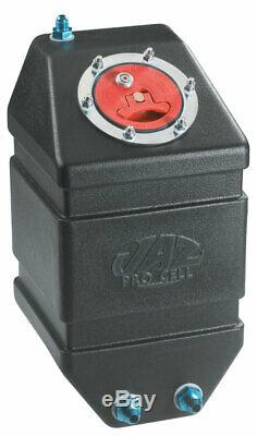 JAZ Black Plastic 3 gal Drag Race Fuel Cell P/N 250-303-01