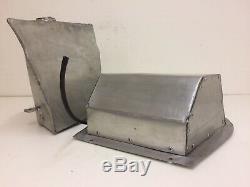 KAWASAKI ZXR 400 L Aluminium Fuel Petrol Tank Ram Air box Lid Race Track