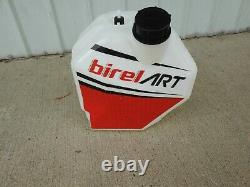 Kart racing removable Fuel tank with Birel/Art stickers applied