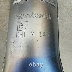 Kawasaki ZX6R 636 Race Decat Downpipe Headers Exhaust Manifold 2013 to 2017
