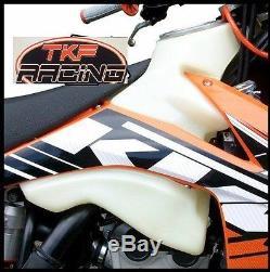 Ktm Sxf350 2011-2012 Fuel Petrol Tank 2.6 Us Gallons Natural Enduro XC Racing