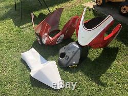 Metrakit Race Fairing Kit, Fuel Tank Cover, Seat & Undertray