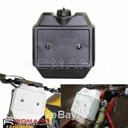 Motorcycle Racing Bike Dirt Bike Front Black Auxiliary Gas Fuel Tank 1.3 Gallon