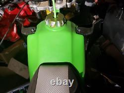 New 1986 1987 Kawasaki Tecate 3 Fuel Gas Tank Atv Racing Calvmx