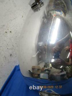 New Large Aluminum Gas, Fuel Tank, AHRMA Racing Yamaha Honda BSA Triumph D616