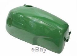Norton Commando Fastback Gas Fuel Tank British Racing Green Painted CDN