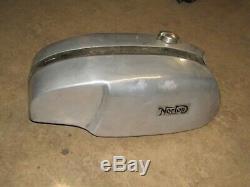 Norton Triton Cafe Race Alloy Fuel Gas Tank Slimline Feather Bed