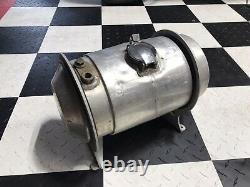 Original 1950s Spun Aluminum Eelco Fuel Tank Rat Rod Scta Trog Halibrand Moon