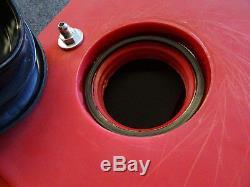 RJS Racing 8 Gallon Drag Fuel Cell with Sump 10993 Recessed Plastic Cap 3pcs foam