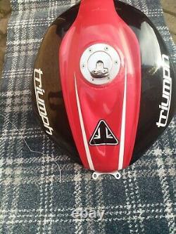 Race Petrol Tank for Triumph Daytona 675 2013+ (Expanded, TT, Blown, large)
