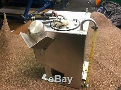 Race car fuel tank (from mini) Lightweight with fuel pump meets MSA approval