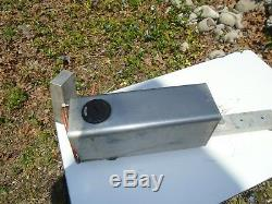 Racing Go Kart Enduro Fuel Tank With Purge Two Gallon Vintage Cart Part