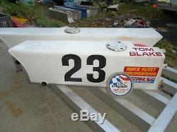 Racing Go Kart Enduro Fuel Tanks Motive System Van K Vintage Cart Part