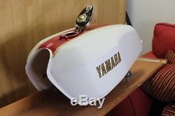 Racing Yamaha RD400 Daytona Gas/Fuel Tank Twin Petcock AHRMA / AMA