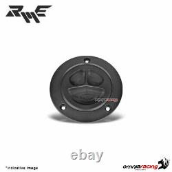 Robby Moto black ergal fuel tank cap racing for Yamaha FZ8 2011