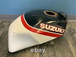 Suzuki 1986 1987 GSXR750 GSXR1100 Vance & Hines Race Fuel Gas Tank