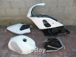 Suzuki GSXR 600 750 SRAD Race Track Bike Fuel Tank Front Fairing & K1 Seat Unit