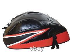 Suzuki GSX 1400 2001-2008 Top Sellerie fuel Petrol Gas Tank Cover Black Red Race