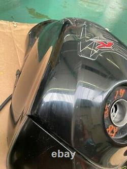 Suzuki Gsxr 600 750 K6 K7 Black Fuel Petrol Tank With Cowl Cell Track Race Road