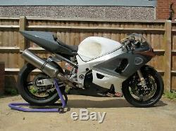 Suzuki Gsxr 600 Track Race Fairing & Fuel Tank K1 K2 K3 Gsxr600 2001 2002 2003