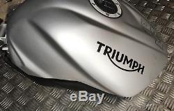 Triumph Street Triple 675 R Rx Fuel Tank Petrol Tank 2013-2018 Track Race