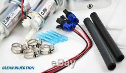Universal Dual 450LPH E85 Electric Fuel Pump In-Tank high pressure bracket kit
