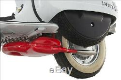 Vespa Sip Racing Px 125 150 166 177 180 Twin Tail Exhaust- Red Road 2.0 New