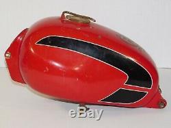 Vintage 1966 Moto Guzzi Stornello 125 Sport Motorcycle Racing Bike Gas Fuel Tank
