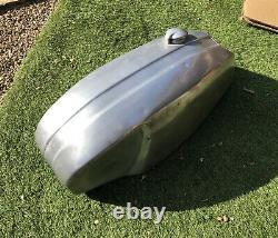 Vintage Aluminium Fuel Tank For Cafe Racer, Norton Triumph, BSA Custom Race Bike