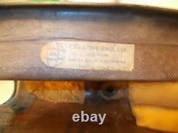 Vintage CECO Flat Track Racing Fiberglass Fuel Tank Gas Used BSA Harley
