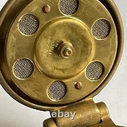 Vintage NOS Enots Brass Fuel Cap, Le Mans Bentley Riley Austin 7 Porsche Singer