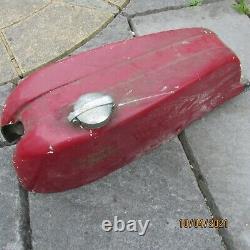 Vintage Road Race TT Classic Style Fibreglass Motorcycle Fuel Tank