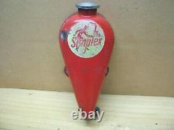 Vintage Simplex Racing Go Kart Seat Back Fuel Gas Tank West Bend McCulloch