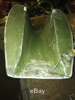 Vintage classic Triumph bsa Honda special ali alloy racer racing Petrol tank