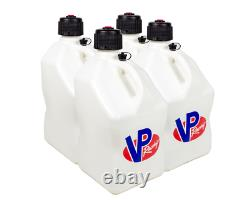 Vp Racing Fuel Jugs Can Tank Container Utility Can White Case Of 4 Vpf3524