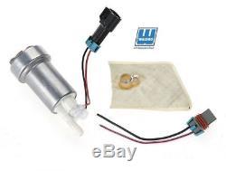 Walbro F90000274 In-Tank E85 Fuel Pump w 400-0085 Installation Kit 485LPH Racing