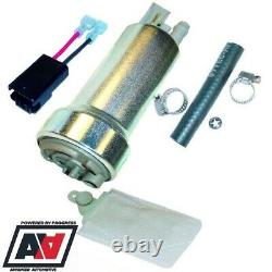 Walbro In Tank 440 LPH Competition Racing Compact Fuel Pump With Fitting Kit ADV