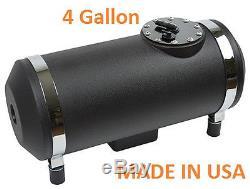 Water Meth Methanol Alcohol Injection Frame Mount Diesel Sumped Fuel Black Tank